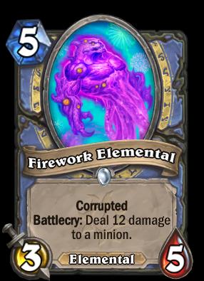 Firework Elemental Card Image