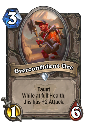 Overconfident Orc Card Image