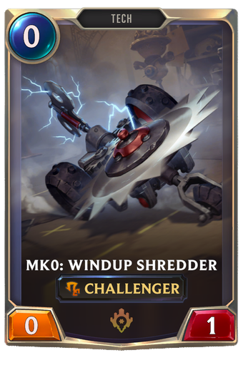 Mk0: Windup Shredder Card Image