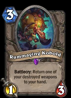 Rummaging Kobold Card Image