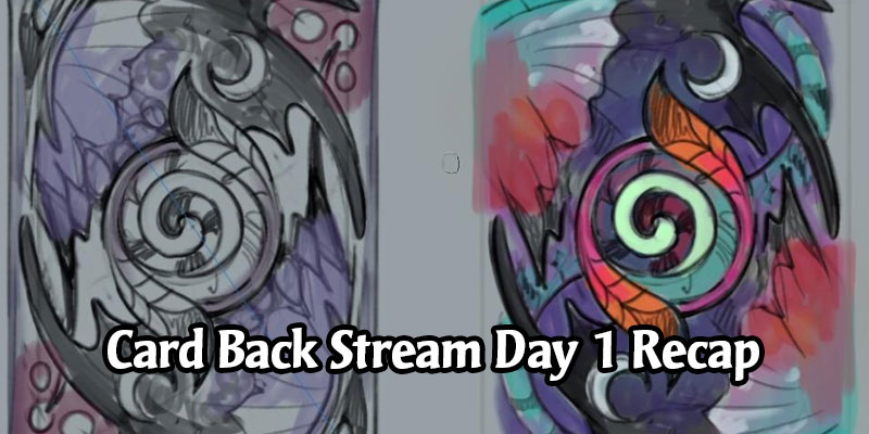 We're Getting a Faerie Dragon Card Back in September - Concept Card Back Art Stream Recap