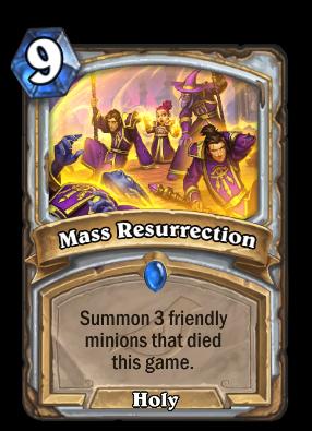 Mass Resurrection Card Image