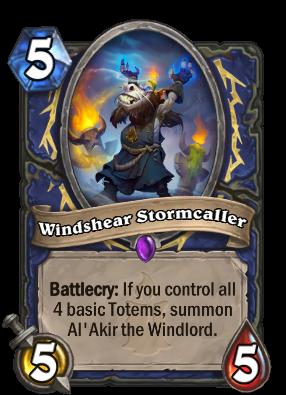 Windshear Stormcaller Card Image