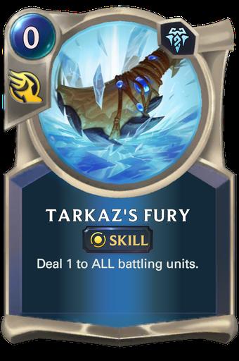 Tarkaz's Fury Card Image