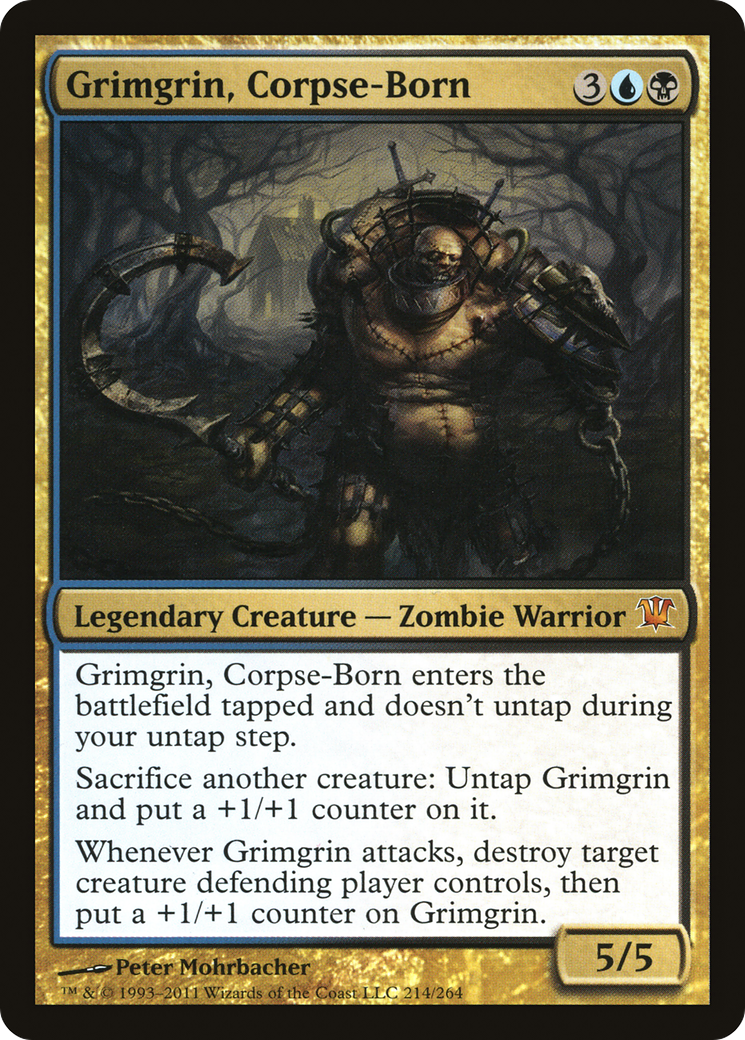 Grimgrin, Corpse-Born Card Image