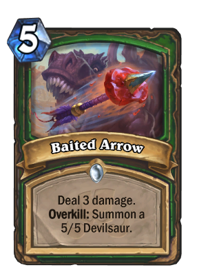 Baited Arrow Card Image