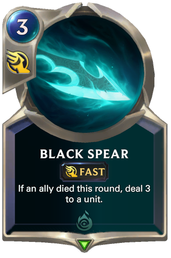 Black Spear Card Image