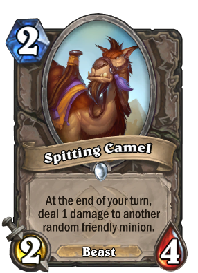 Spitting Camel Card Image