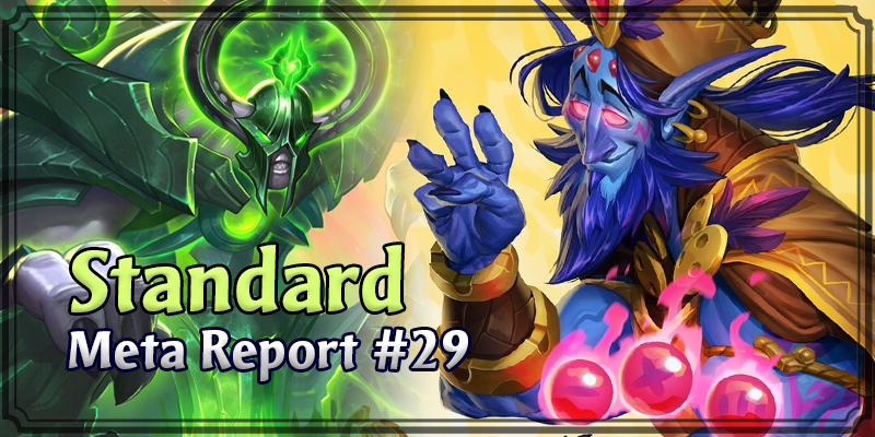 Standard Meta Report #29 - Top Hearthstone Decks April 5, 2020 - April 12, 2020