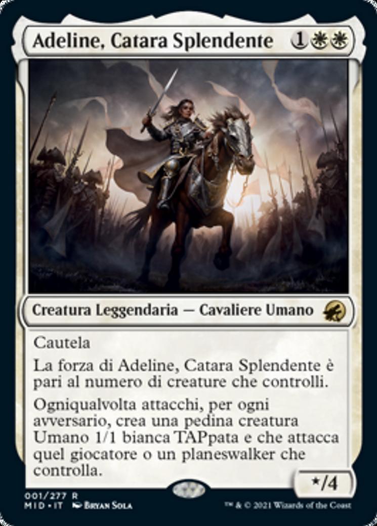 Adeline, Resplendent Cathar Card Image