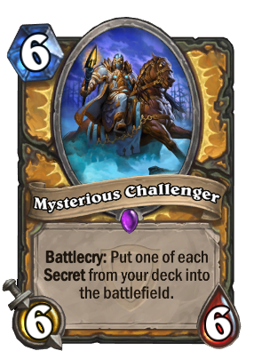 Mysterious Challenger Card Image