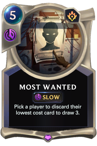 Most Wanted Card Image