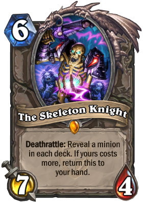 The Skeleton Knight Card Image