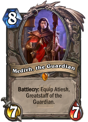 Medivh, the Guardian Card Image