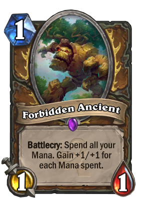 Forbidden Ancient Card Image