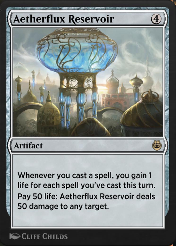Aetherflux Reservoir Card Image