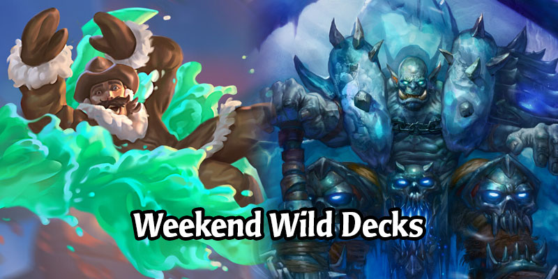 A Wild Hearthstone Weekend Featuring Elemental Mage, Fatigue Warrior, Deathrattle Priest, and More!