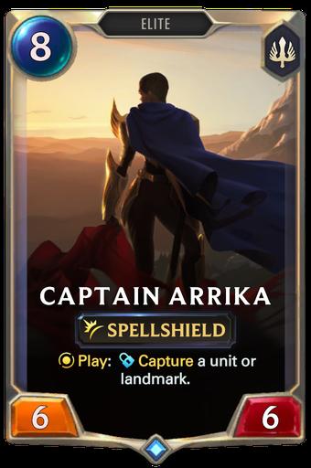 Captain Arrika Card Image
