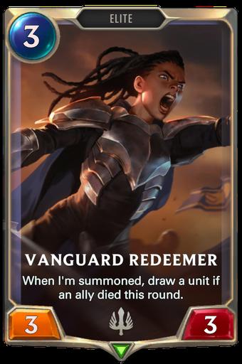 Vanguard Redeemer Card Image