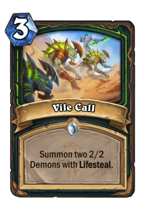 Vile Call Card Image