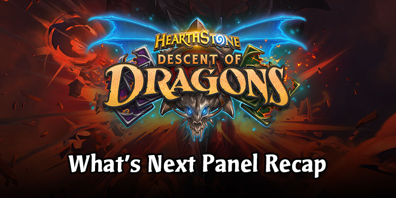 Hearthstone What's Next Panel with 12 New Cards! BlizzCon 2019