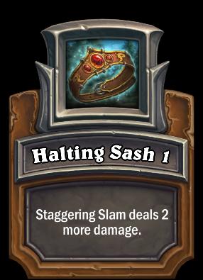 Halting Sash 1 Card Image
