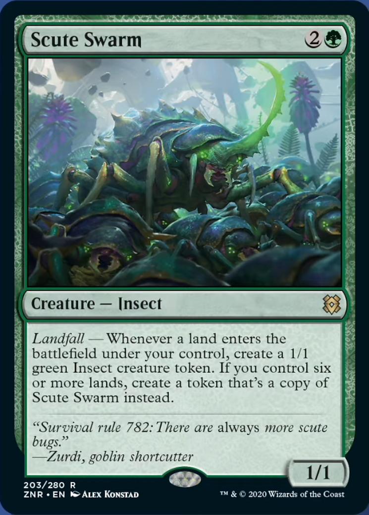 Scute Swarm Card Image