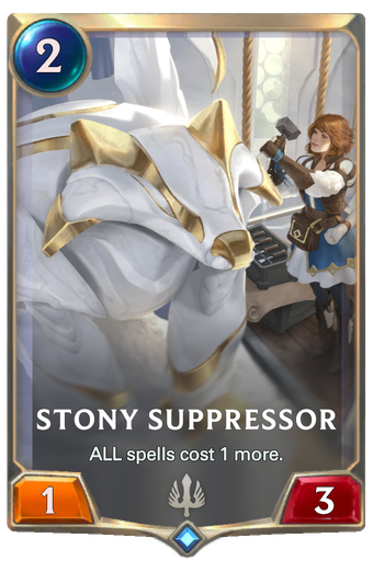 Stony Suppressor Card Image