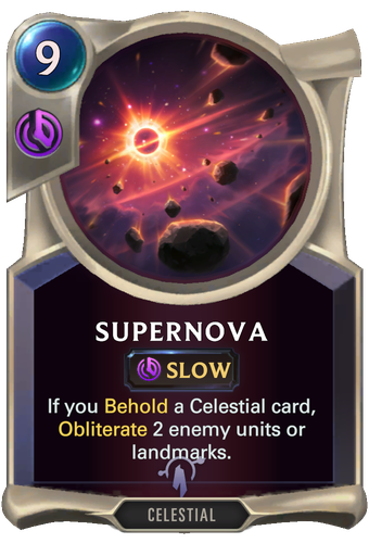Supernova Card Image