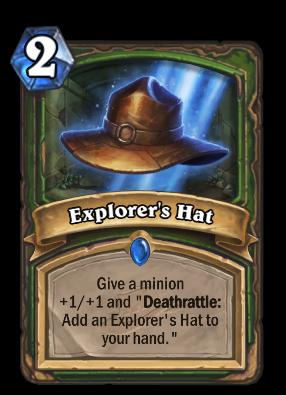 Explorer's Hat Card Image