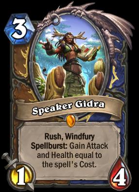 Speaker Gidra Card Image