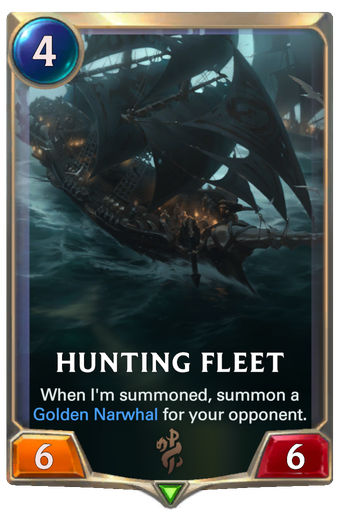 Hunting Fleet Card Image