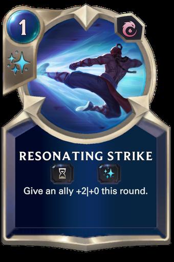 Resonating Strike Card Image