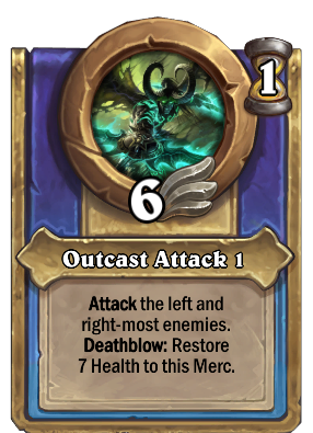 Outcast Attack 1 Card Image