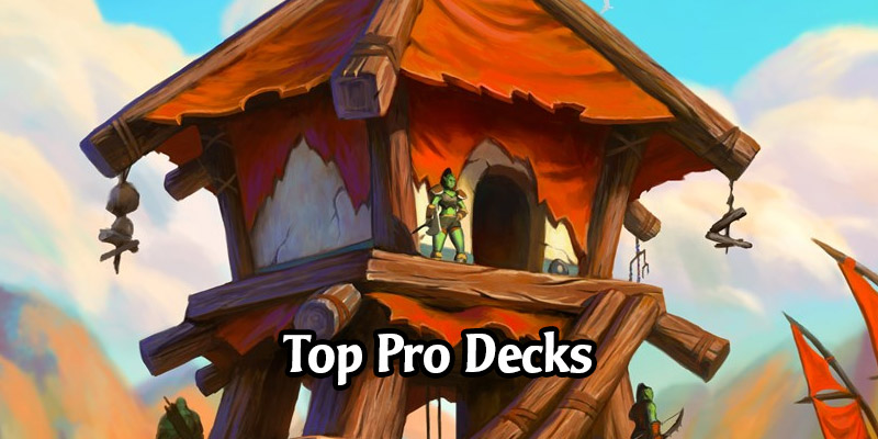 What Are Hearthstone's Pros Playing in Forged in the Barrens? Top Standard Decks For the New Rotation