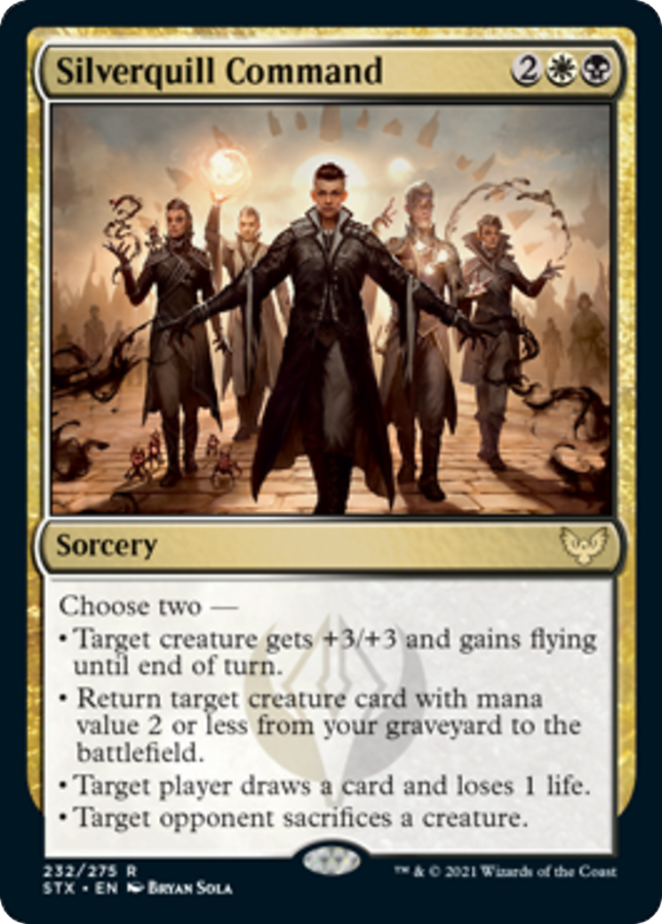 Silverquill Command Card Image