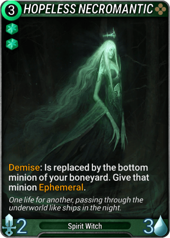 Hopeless Necromantic Card Image
