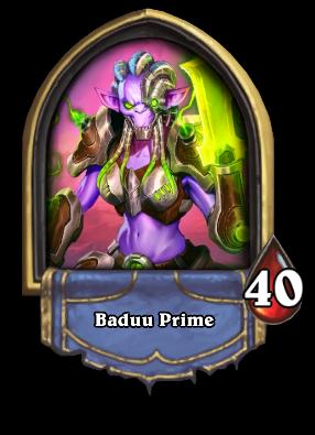 Baduu Prime Card Image