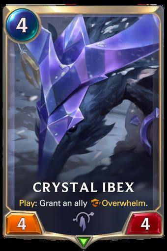 Crystal Ibex Card Image