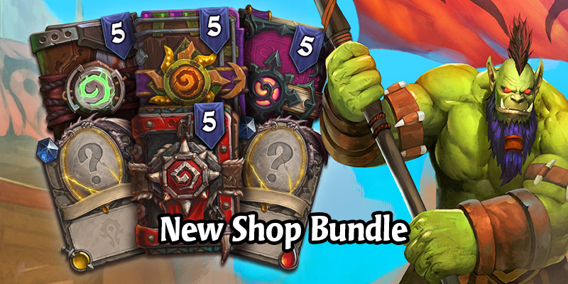 Hearthstone's Crossroads Bundle is Now Live! 2 Forged in the Barrens Legendary Cards + 20 Total Packs From 4 Sets