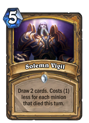 Solemn Vigil Card Image