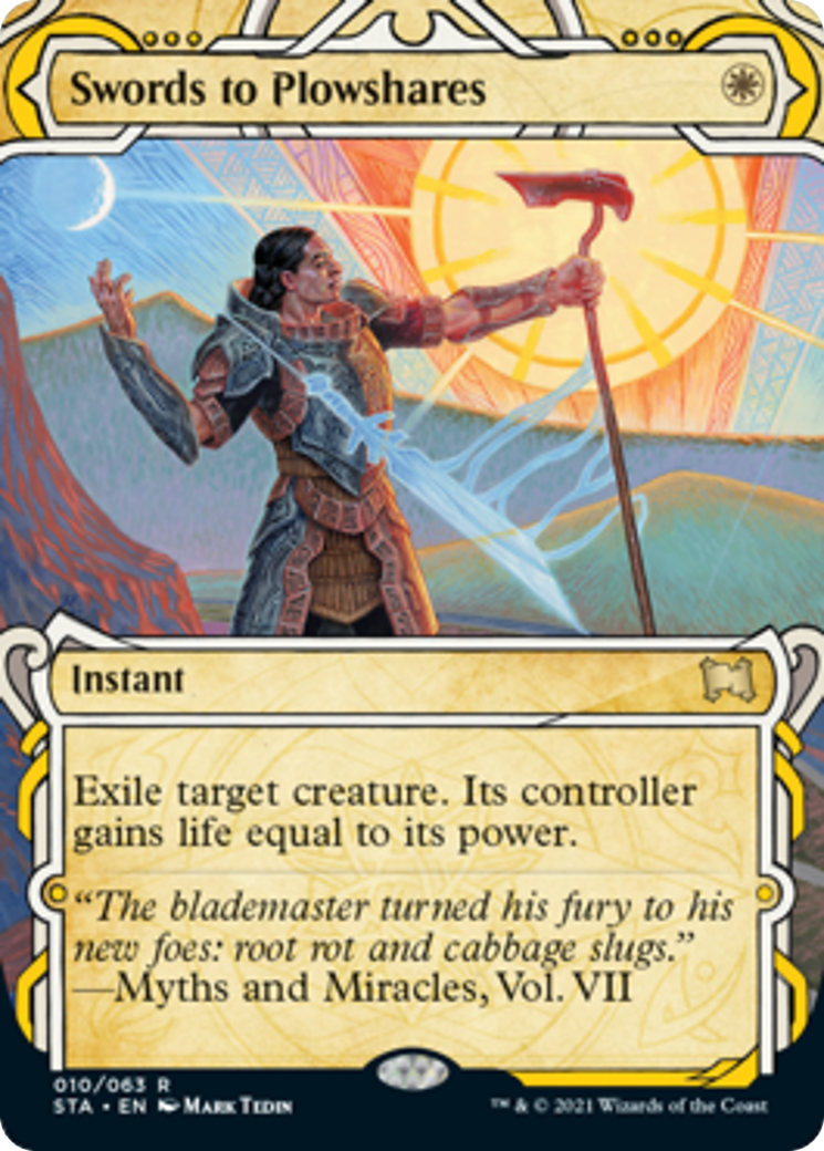 Swords to Plowshares Card Image