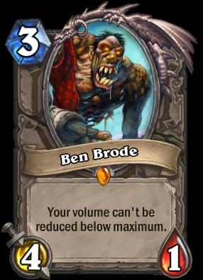 Ben Brode Card Image