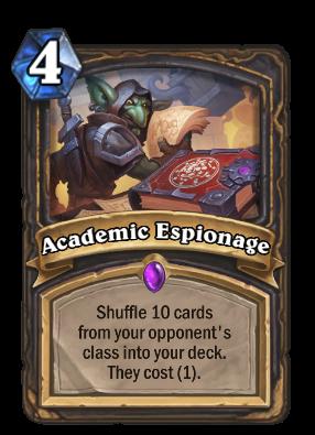 Academic Espionage Card Image