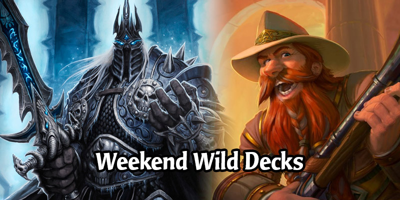 Weekend Wild Hearthstone Decks - Control Warlock, Big Rogue, Spiteful Druid, & More