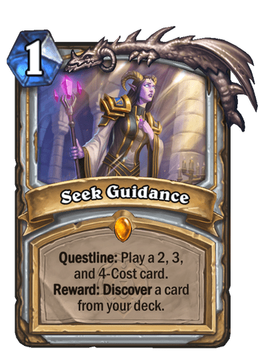 Seek Guidance Card Image