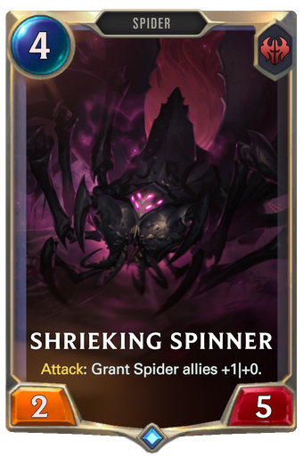 Shrieking Spinner Card Image