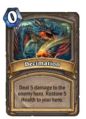 Decimation Card Image
