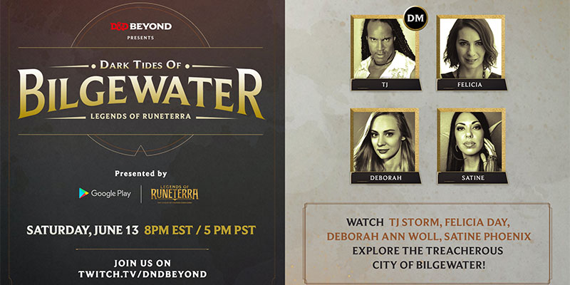 Explore the Dark Tides of Bilgewater with D&D Beyond