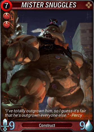 Mister Snuggles Card Image